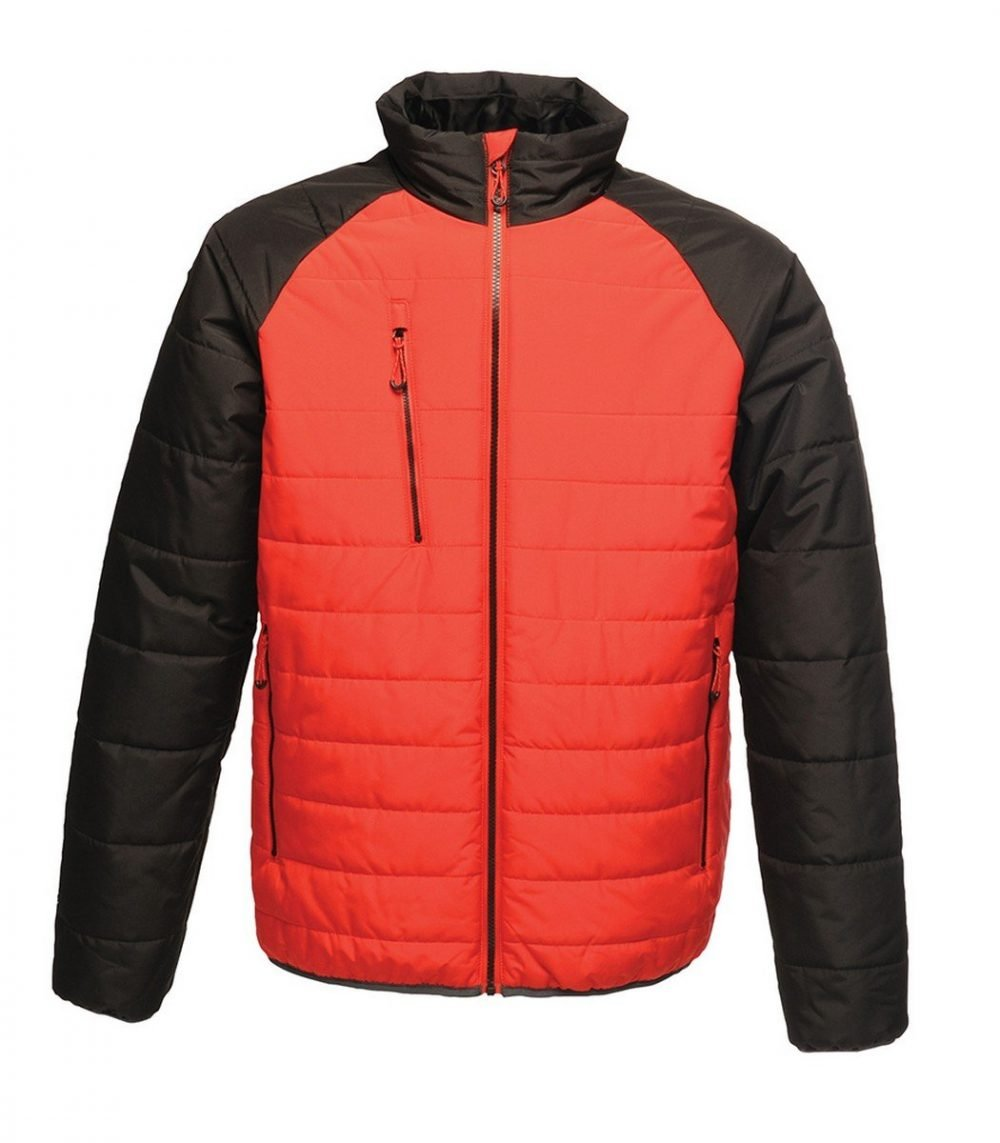 Regatta Glacial Warmloft Thermal Jacket TRA453 Red and Black Colour