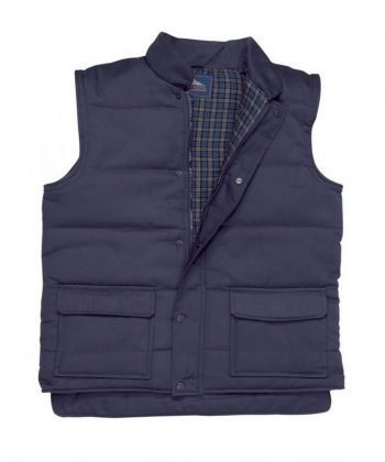 PPG Workwear Portwest Aran Bodywarmer S410 Navy Blue Colour