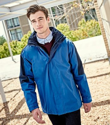 Regatta Defender III 3-in-1 Jacket TRA130 Royal Blue and Navy Blue Colour