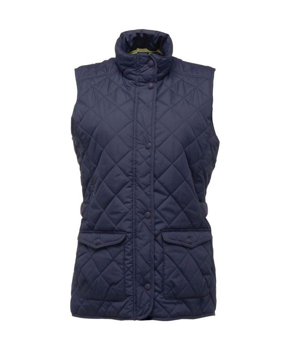 PPG Workwear Regatta Tarah Diamond Quilt Bodywarmer TRA811 Navy Blue Colour