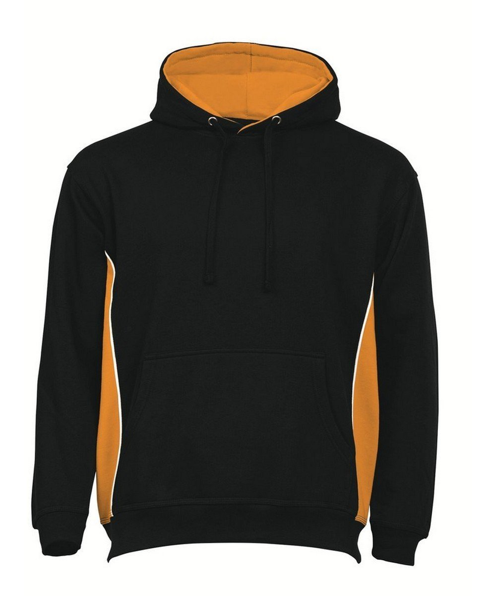 PPG Workwear Orn Silverswift Two Tone Premium Hoodie 1295 Black and Orange Colour