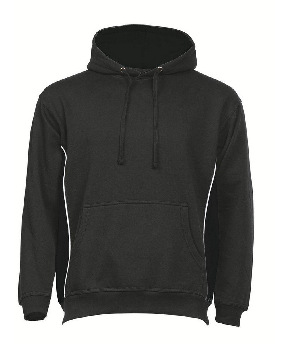 PPG Workwear Orn Silverswift Two Tone Premium Hoodie 1295 Graphite and Black Colour