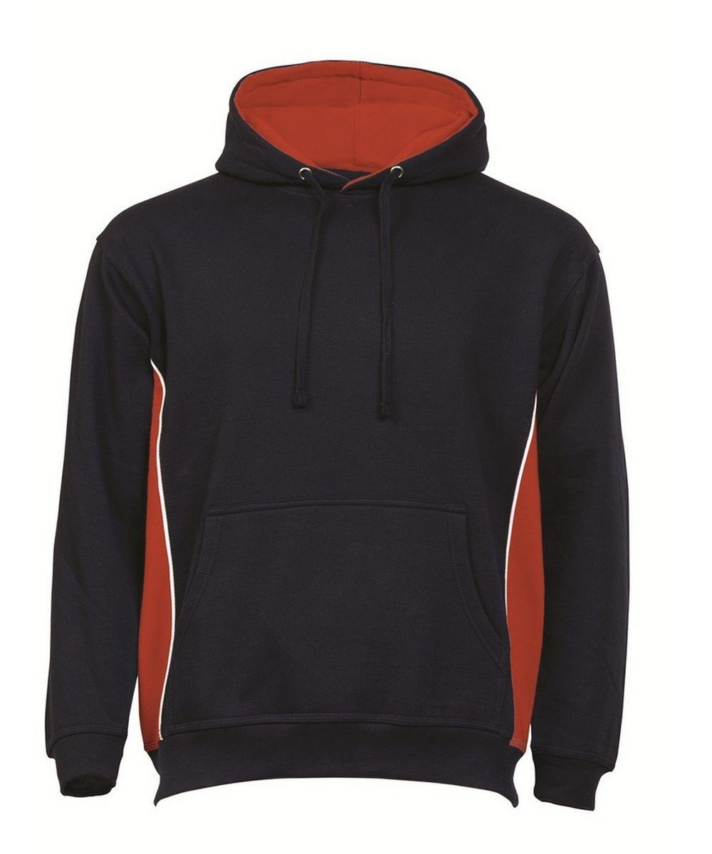 PPG Workwear Orn Silverswift Two Tone Premium Hoodie 1295 Navy Blue and Red Colour