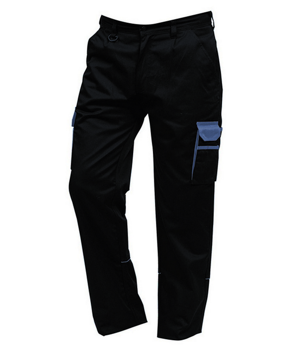 ORN Two Tone Contrast Combat Trousers 2580 Navy Blue Colour with Royal Blue Trim