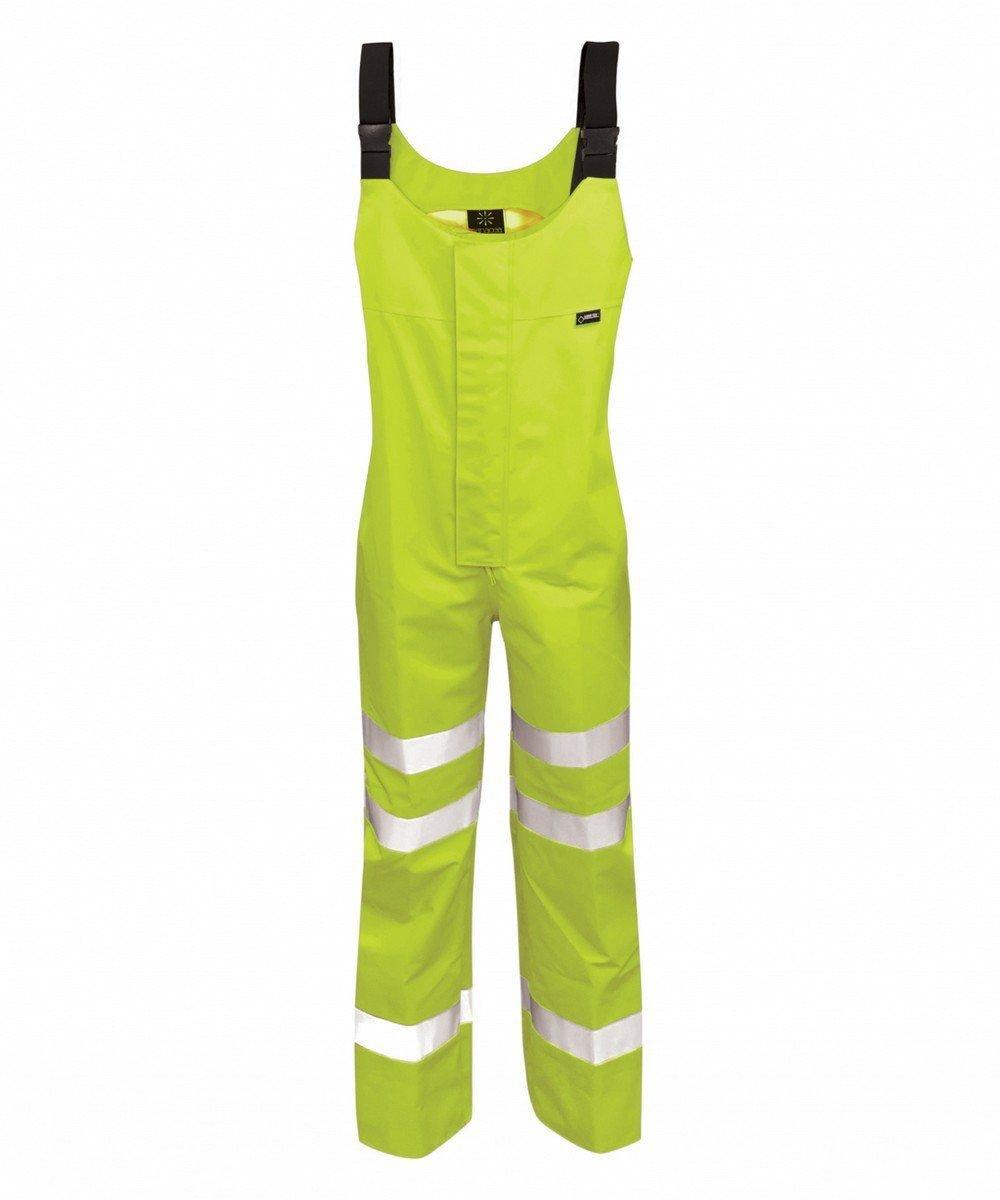 PPG Workwear Orbit Gore-Tex Mekong Hi Vis Salopette GB3SALY Yellow Colour