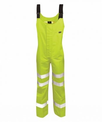 PPG Workwear Orbit Gore-Tex Mekong Hi Vis Salopette GB3SALY Yellow Colour