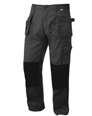 PPG Workwear Orn Swift Tradesman Trouser 2850 Anthracite Grey and Black Colour