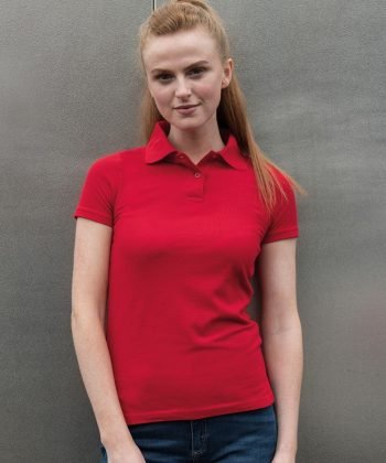 PPG Workwear PRO RTX Ladies Pro Polo Shirt RX101F Red Colour