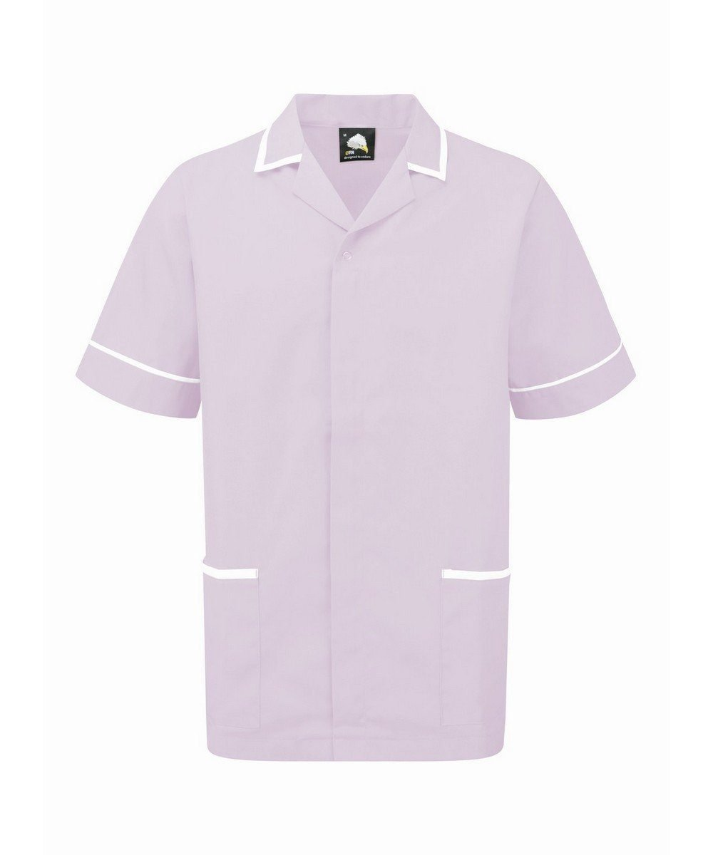 PPG Workwear Orn Darwin Mens Tunic 8500 Lilac Colour with White Trim