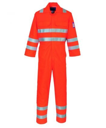 Portwest Modaflame RIS FR Anti-Static Coverall MV91 Orange Colour