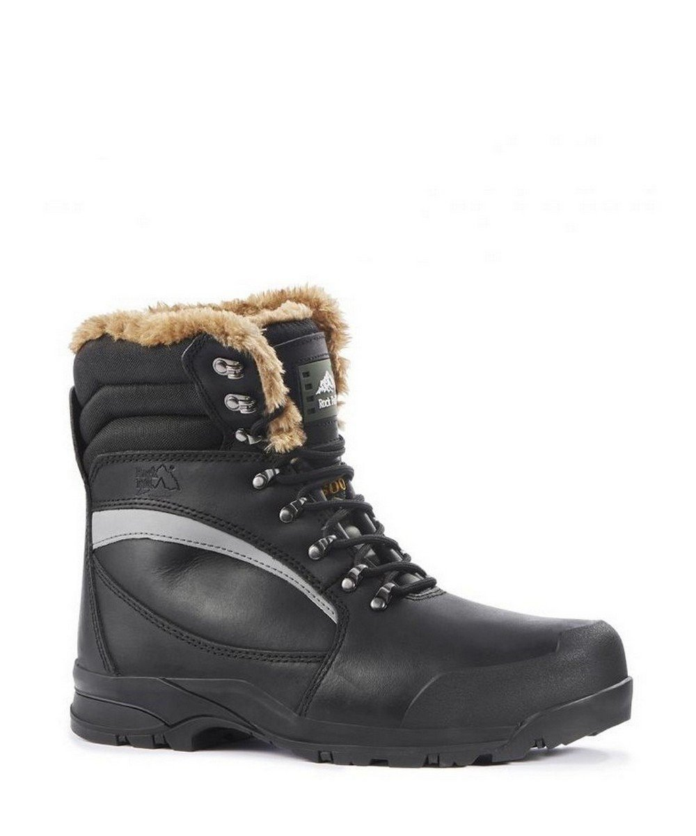 Rock Fall Alaska Thermal Freezer Boot RF001 Black Colour