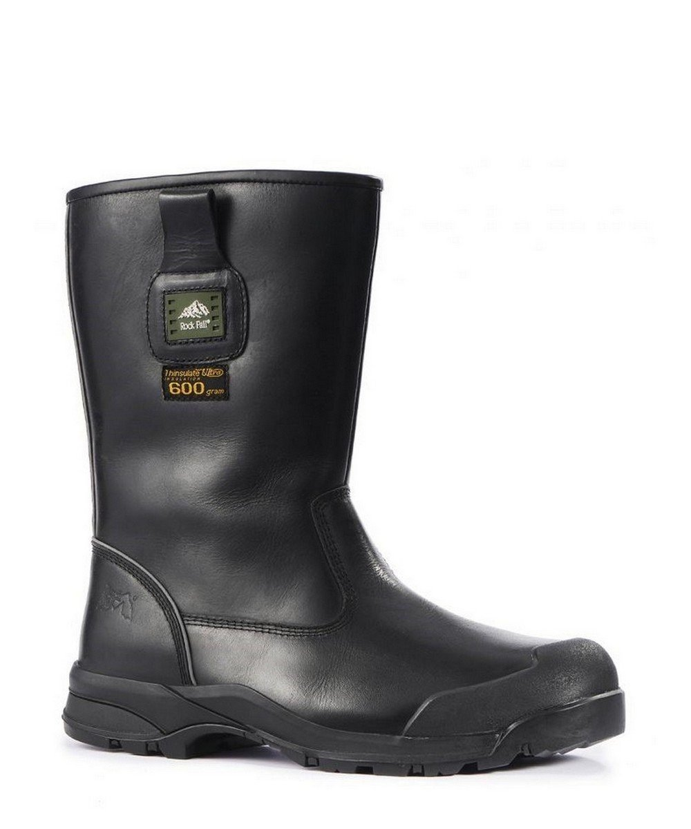 PPG Workwear Rock Fall Manitoba Thermal Freezer Boot RF040 Black Colour