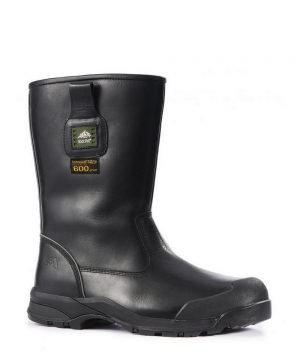 PPG Workwear Rock Fall Manitoba Thermal Freezer Boot RF040 Black Colour