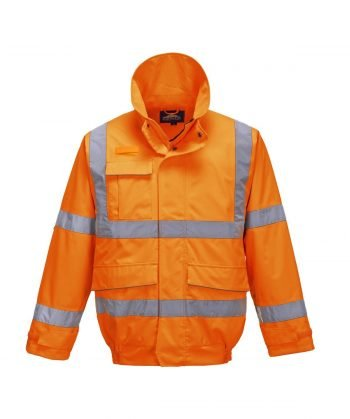 Portwest Extreme Hi Vis Bomber Jacket S591 Orange Colour