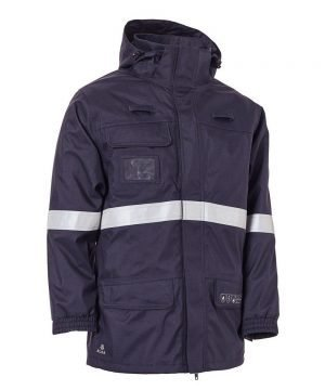 PPG Workwear Elka Securetech Multinorm Electric Arc Jacket 086060 Navy Blue Colour