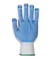 PPG Workwear Portwest Polka Dot Plus Glove A113 Blue and White Colour Palm View