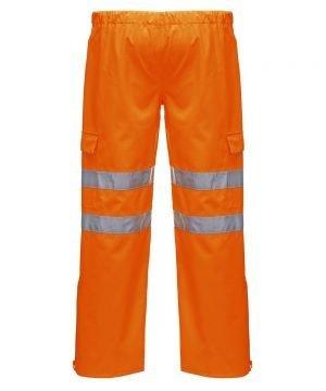PPG Workwear Portwest Extreme Waterproof Hi Vis Trouser Orange Colour S597