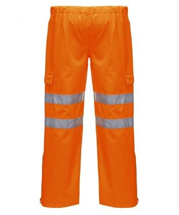 PPG Workwear Portwest Extreme Waterproof Hi Vis Trouser Orange Colour S597