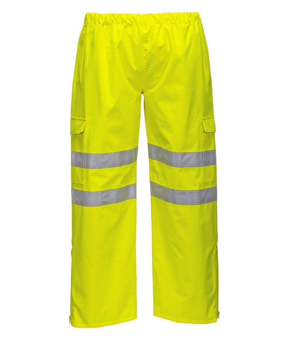 PPG Workwear Portwest Extreme Hi Vis Waterproof Trouser Yellow Colour S597