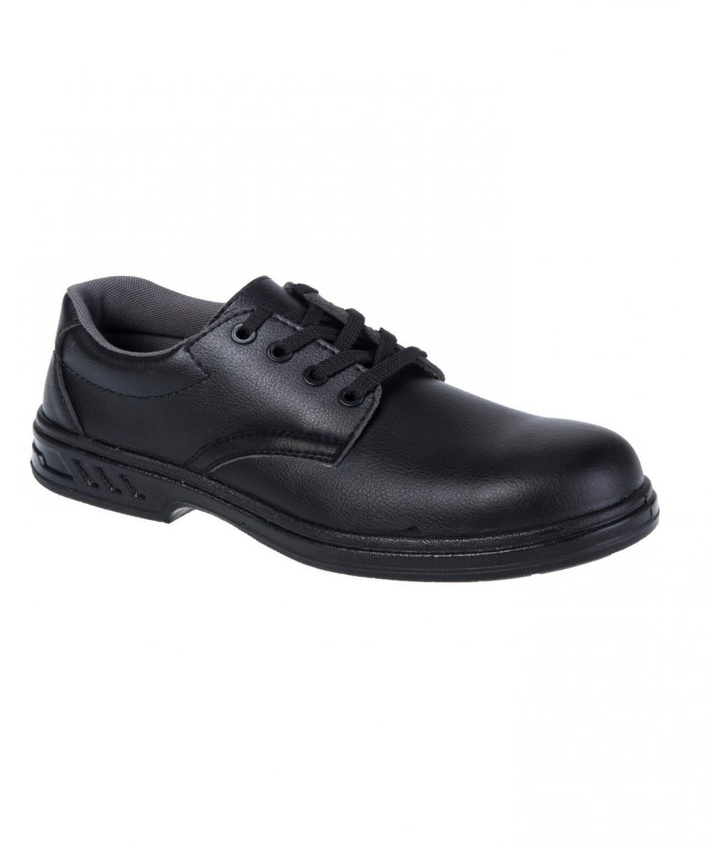 PPG Workwear Portwest Steelite Laced Safety Shoes FW80 Black Colour