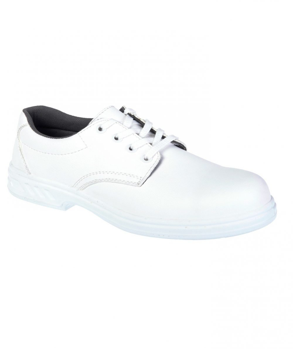 Portwest Steelite Laced Safety Shoes FW80 White Colour