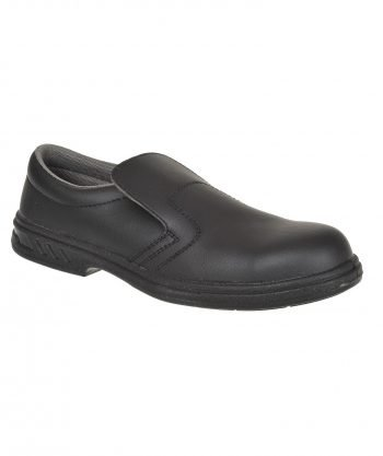 Portwest Steelite Slip On Safety Shoes FW81 Black Colour