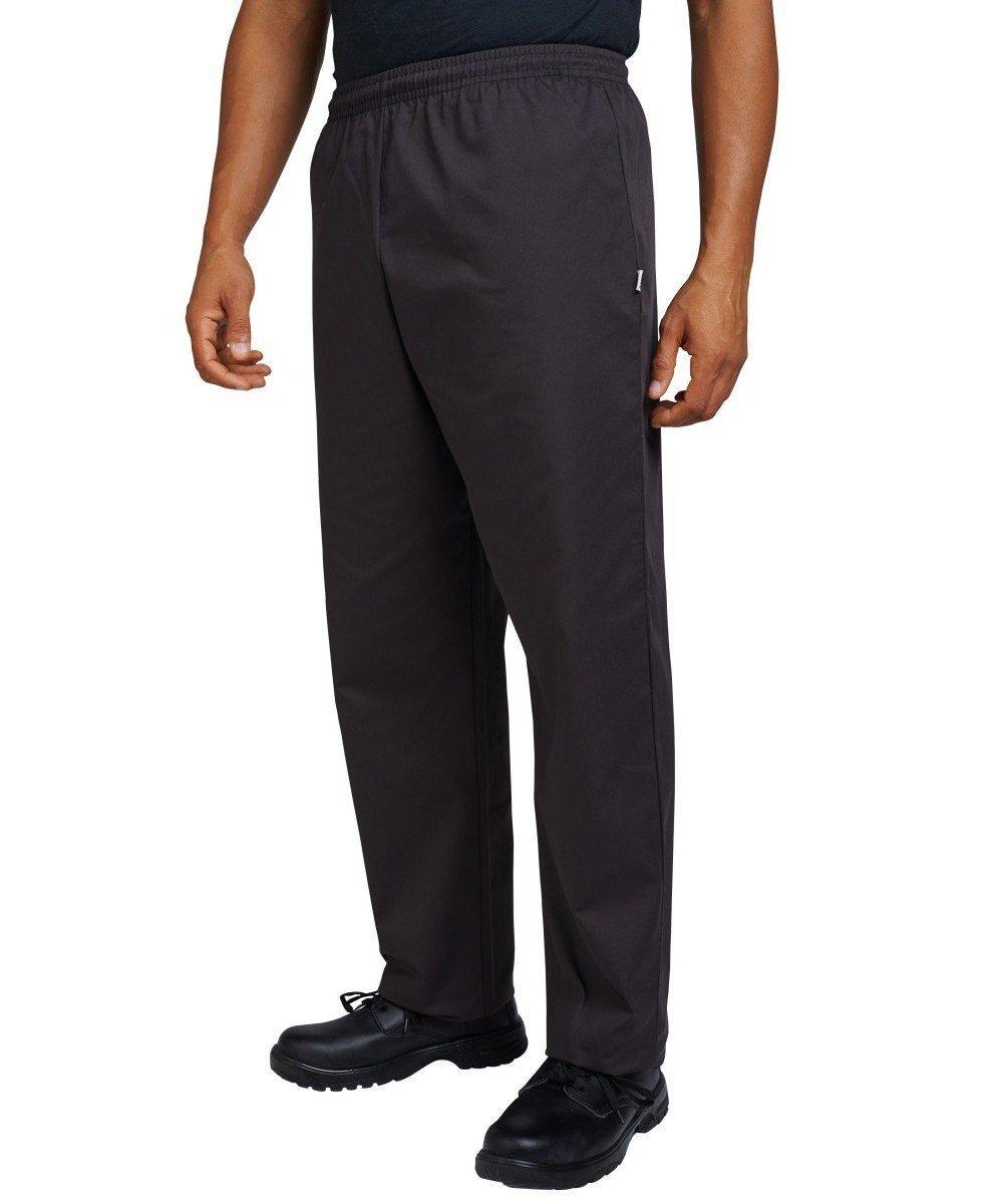 Dennys Best Value Chefs Trousers DC15 Black Colour