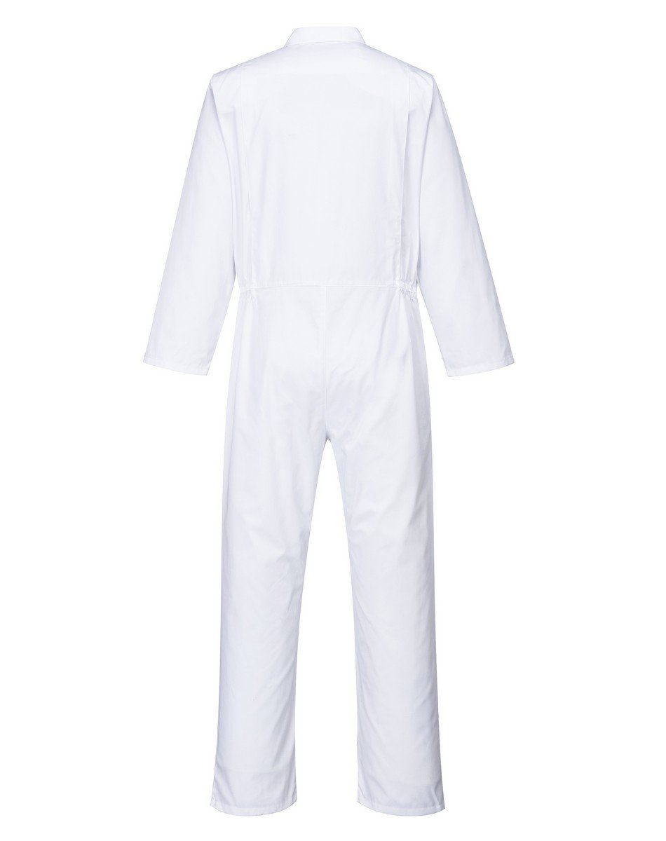 PPG Workwear Portwest Food Industry Coverall 2201 White Colour Back View