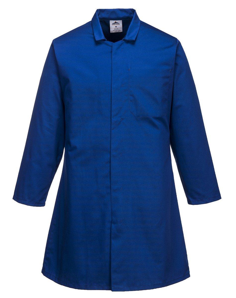 Portwest Food Coat One Pocket 2202 Royal Blue Colour