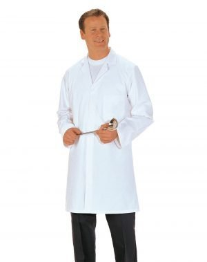 Portwest Food Coat Three Pockets 2206 White Colour