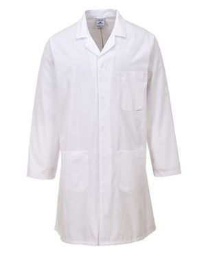 Portwest Standard Coat 2852 White Colour