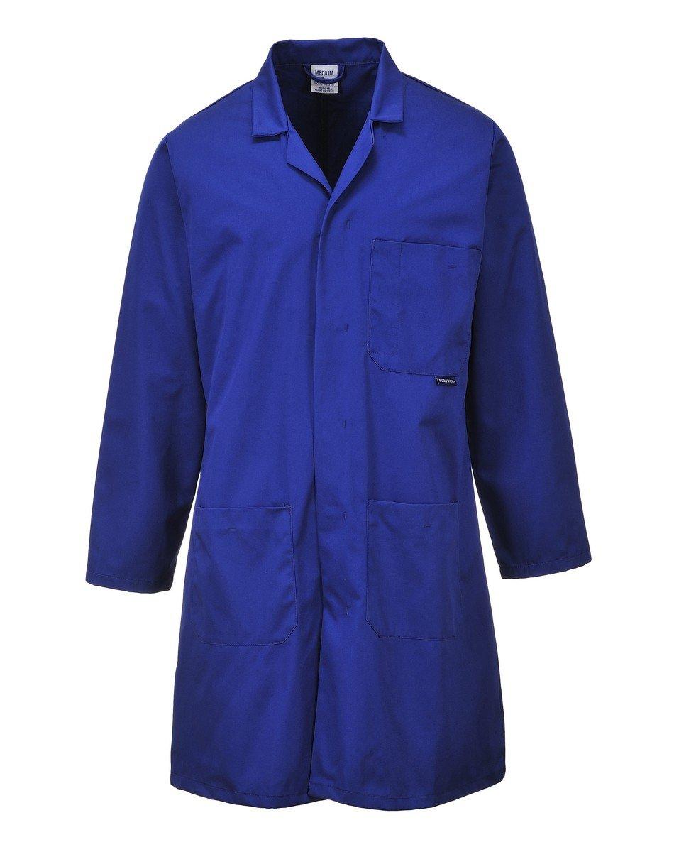 Portwest Standard Coat 2852 Royal Blue Colour