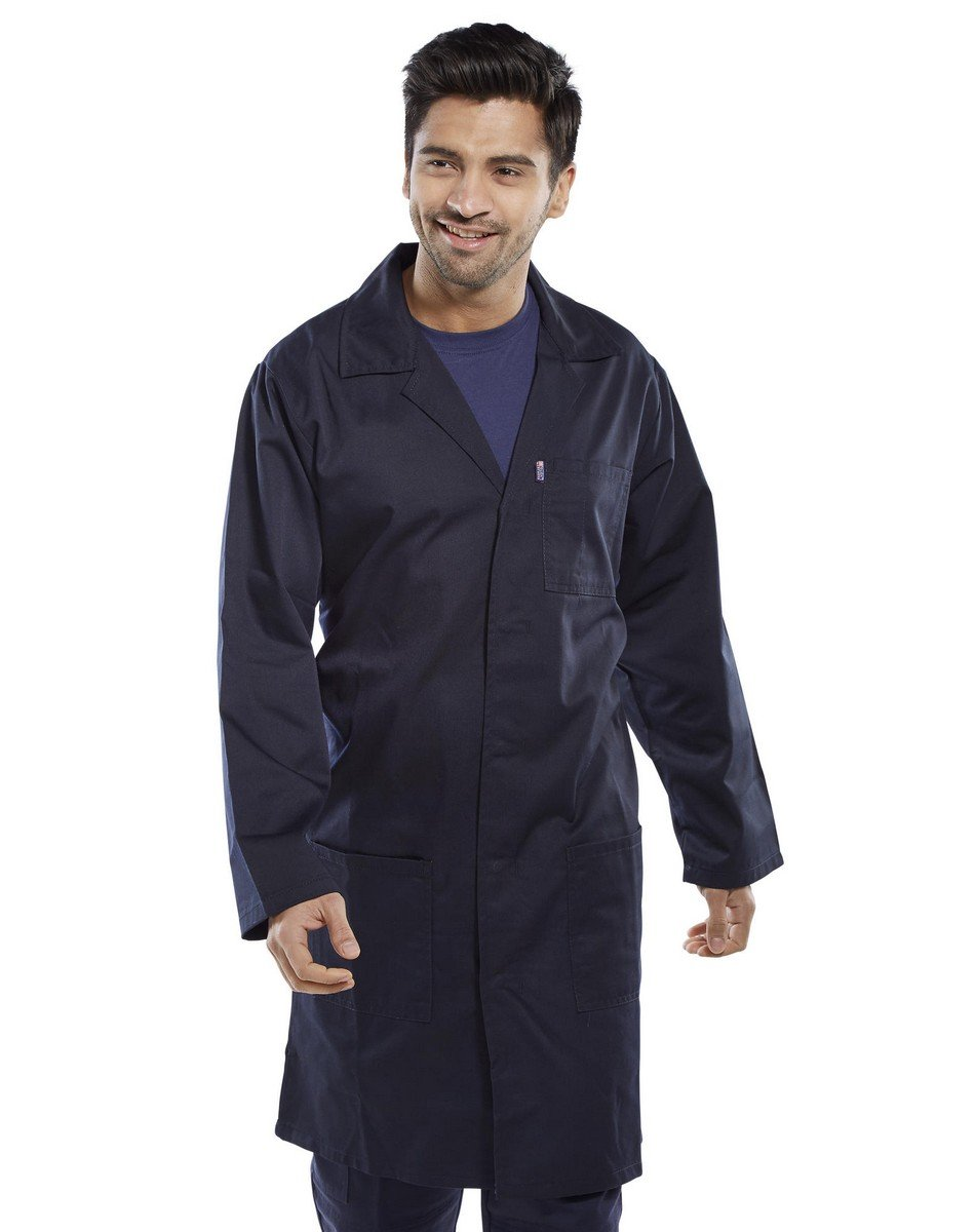 PPG Workwear Click Warehouse Coat PCWC Navy Blue Colour