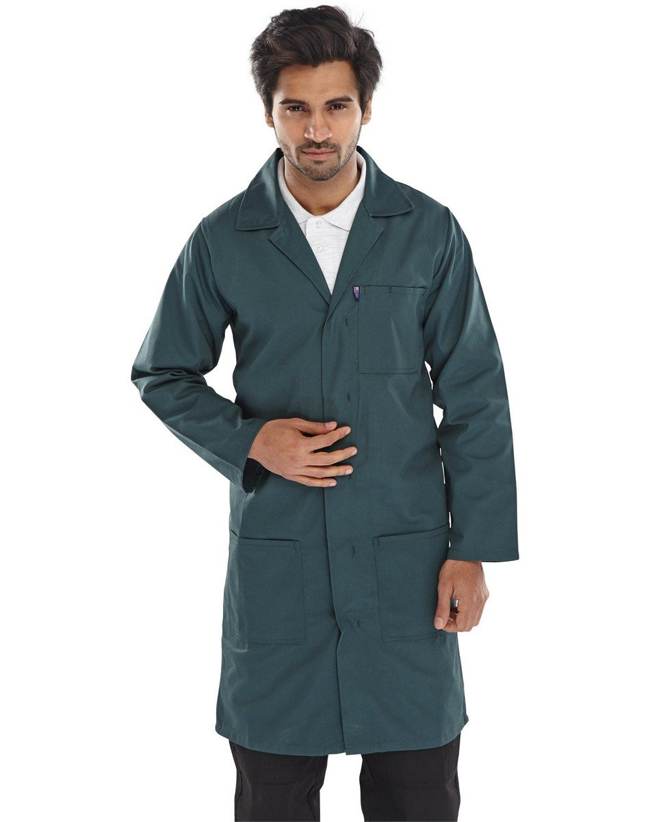 Click Warehouse Coat PCWC Spruce Green Colour
