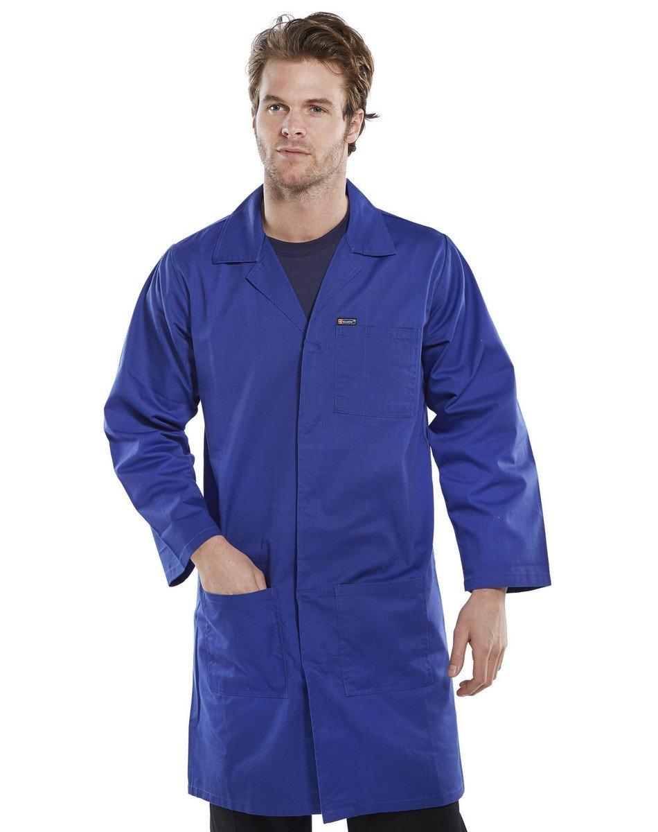 Click Warehouse Coat PCWC Royal Blue Colour