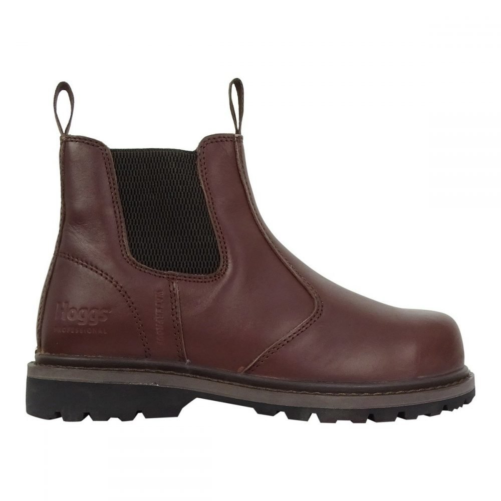 PPG Workwear Hoggs of Fife Zeus Safety Dealer Boot Brown Colour