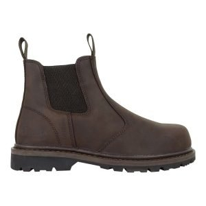 PPG Workwear Hoggs of Fife Zeus Safety Dealer Boot Dark Brown Colour