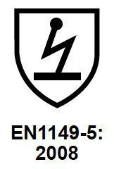 standard for electrostatic workwear clothing standard Electrostatic Properties EN 1149-5