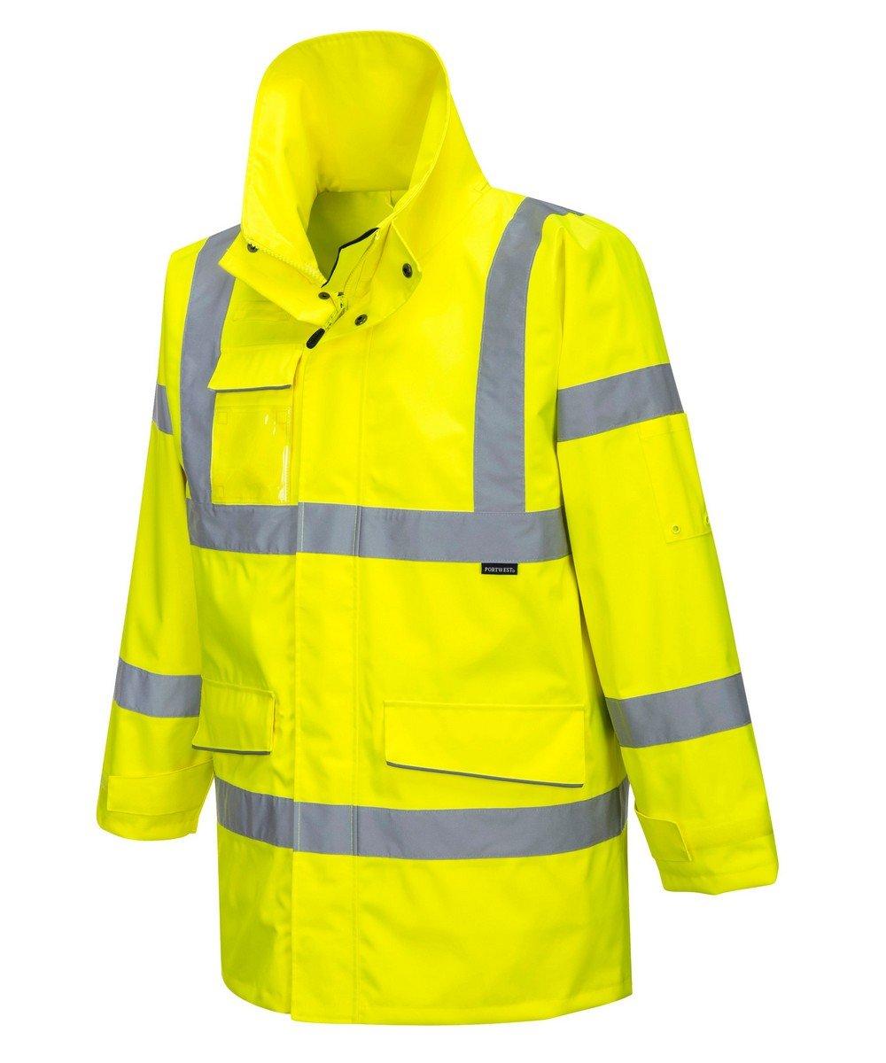 PPG Workwear Portwest Extreme Hi Vis Parka Jacket S590 Yellow