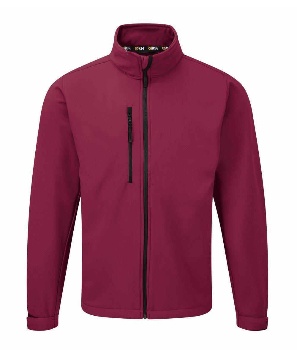 PPG Workwear Orn Tern Softshell Jacket 4200 Burgundy Colour