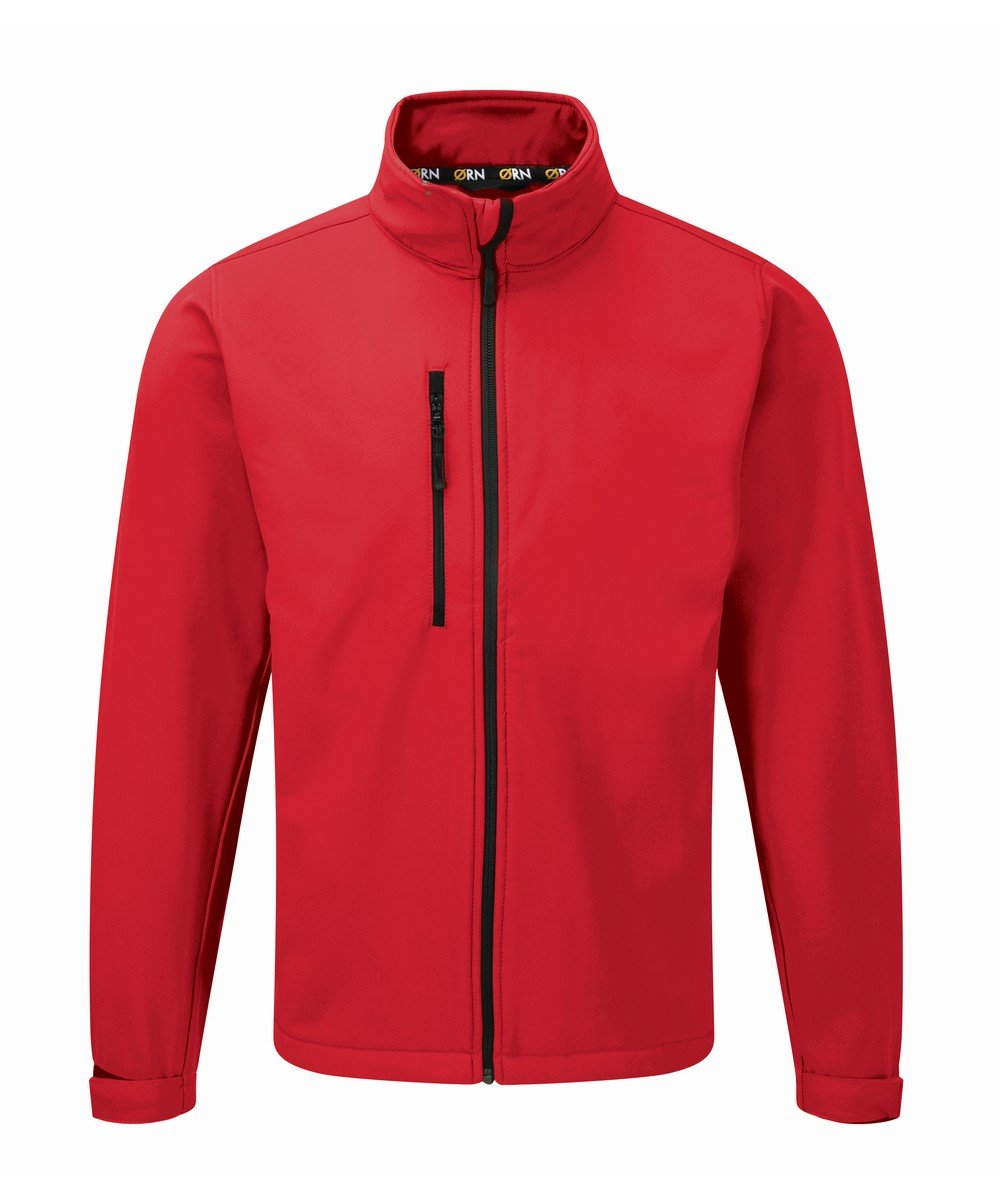 PPG Workwear Orn Tern Softshell Jacket 4200 Red Colour
