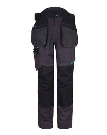 PPG Workwear Portwest WX3 Holster Trouser T702 Metal Grey Colour