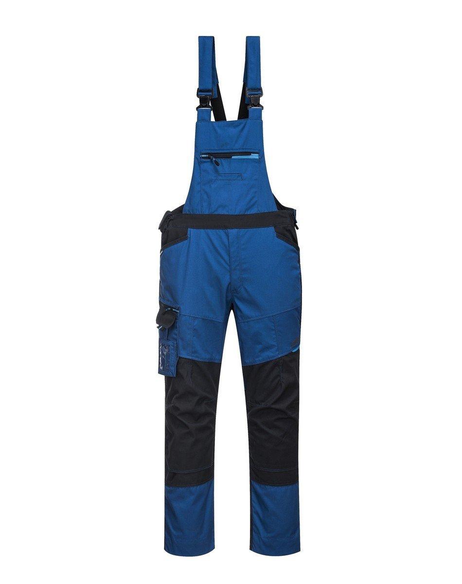 PPG Workwear Portwest WX3 Bib/Brace T704 Blue Colour