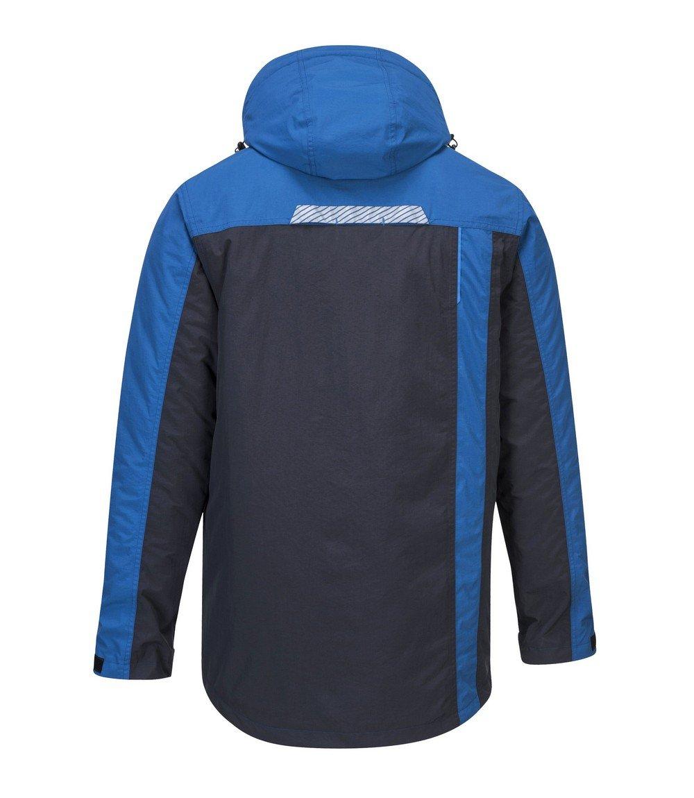 Portwest WX3 Winter Jacket T740 Blue Colour Back View