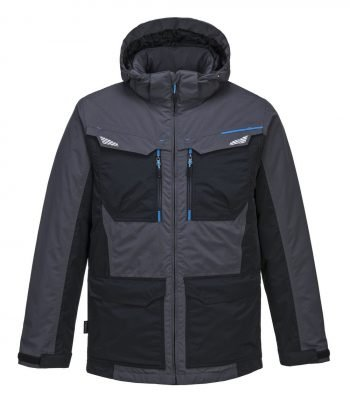 PPG Workwear Portwest WX3 Winter Jacket T740 Grey Colour