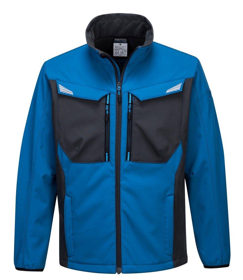 PPG Workwear Portwest WX3 Softshell Jacket T750 Blue Colour