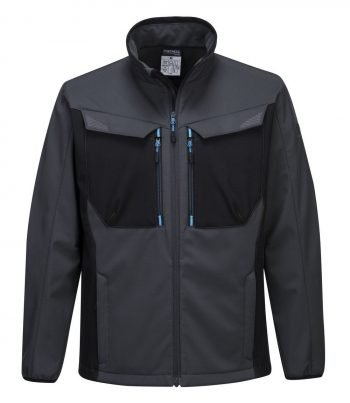 PPG Workwear Portwest WX3 Softshell Jacket T750 Grey Colour