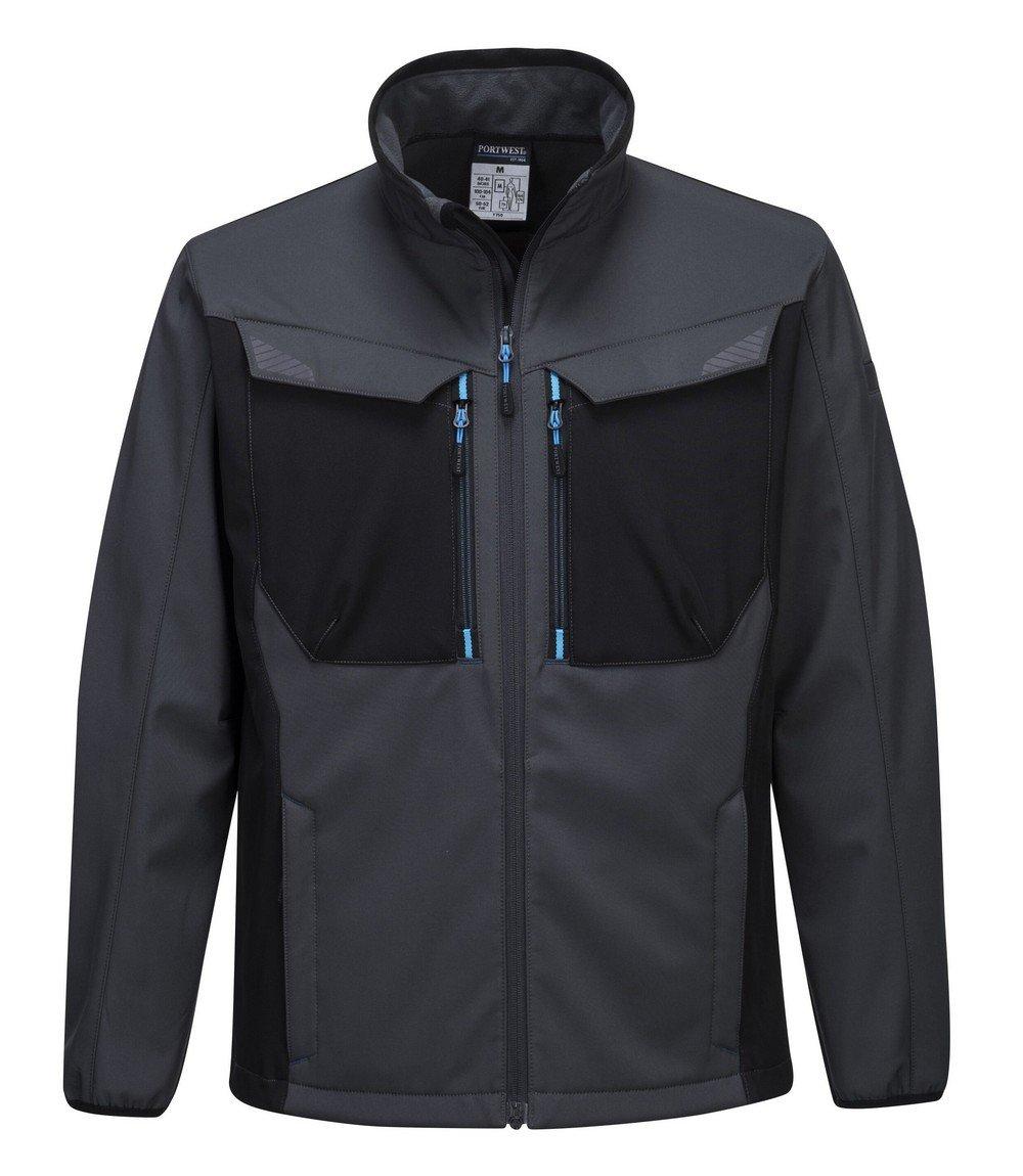 PPG Workwear Portwest WX3 Softshell Jacket T750 Grey Colour