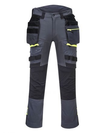 PPG Workwear Portwest DX4 Detachable Holster Pocket Trousers DX440 Grey Colour