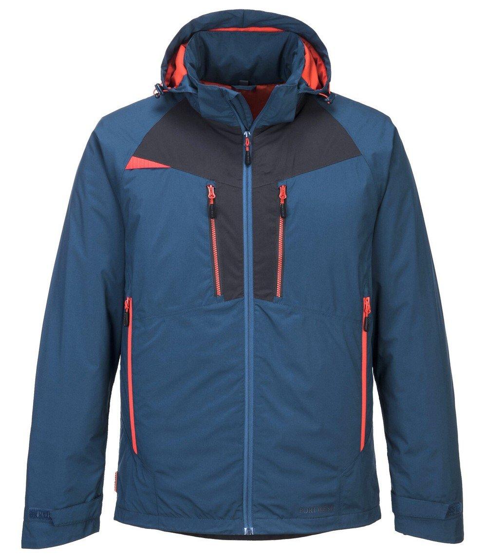 PPG Workwear Portwest DX4 Winter Jacket DX460 Blue Colour